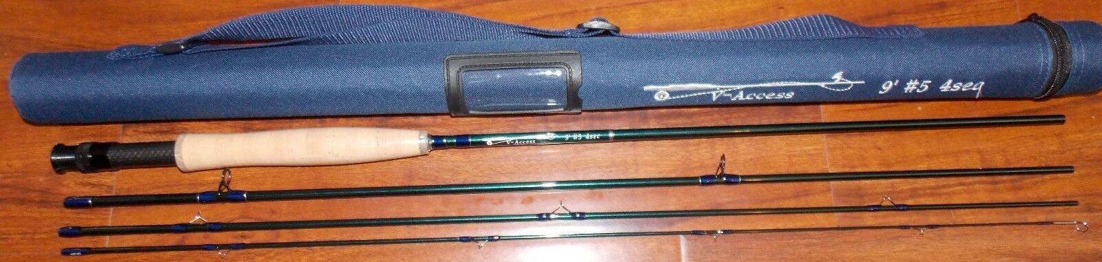 5 WT V-Access  Fly Fishing Rod  9   ft  4 Sec. with Tube  FREE 3 DAY SHIPPING  enjoy saving 30-50% off