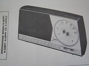 WESTINGHOUSE H-138 RADIO PHOTOFACT