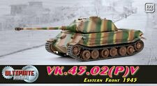 ULTIMATE DRAGON ARMOR 1/72 VK.45.02(P)V tank Panzer  60587 EASTERN FRONT 1945