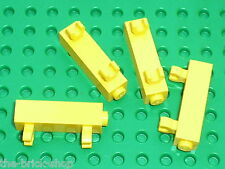 LEGO TRAIN yellow Brick with Clips Vertical ref 60801 & 60583 / Set 3677 3189 ..