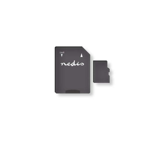 Nedis tarjeta de memoria microSDHC 16-128 gb escribir con hasta 90 Mbit//s clase 10