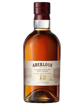 Aberlour 12 Year Old Double Cask Scotch Whisky 700mL bottle Single Malt Highland
