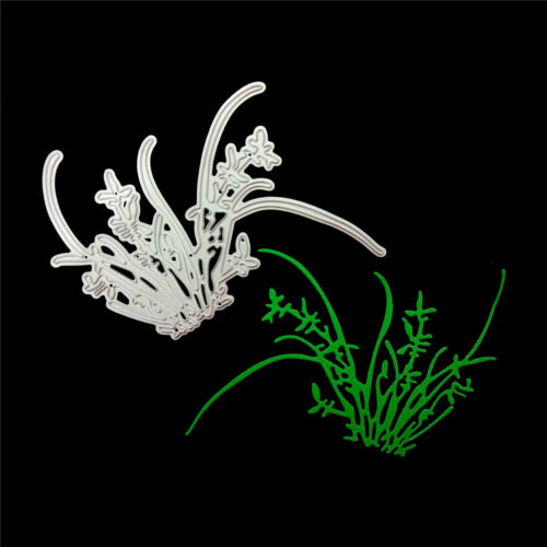 Orchid grass Metal Cutting Dies Stencil for DIY Scrapbooking Album Paper Cards R