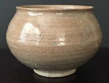 ANTIQUE CHINESE NORTHERN SONG YUE WARE GLAZED CELADON ALMS BOWL