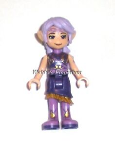 Lego Elves MiniFigure Hood and extra Hair 41180 New AIRA Windwhistler w//Cape