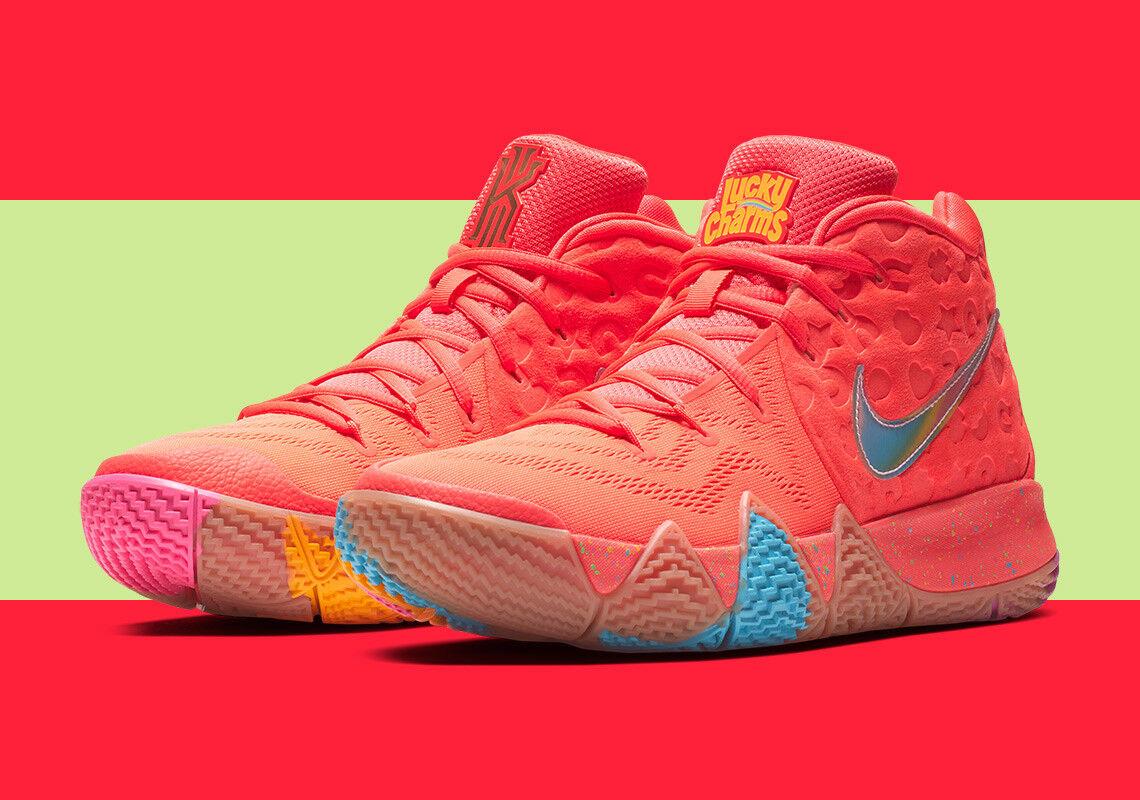 Nike Kyrie 4 Lucky Charms PE Size 8. BV0428-600 Jordan Kobe