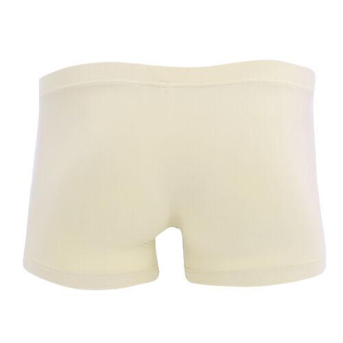 Men/'s Bikini Underwear with Breathable Holes Closed Penis Sheath Underpants