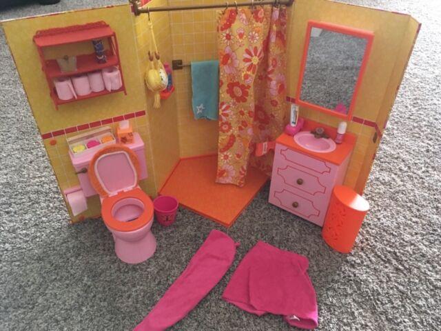 American Girl Doll Julie/'s Groovy Bathroom Set NEW!!