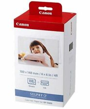 Memorial Day Sale BRAND NEW Canon KP-108IN Color Ink And Paper Set  3115B001