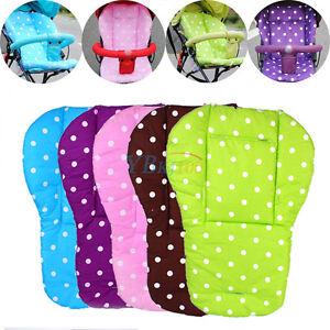Baby-Kids-Infant-Trolley-Stroller-Pram-Pushchair-Seat-Dot-Liner-Pad-Cushion-Mat