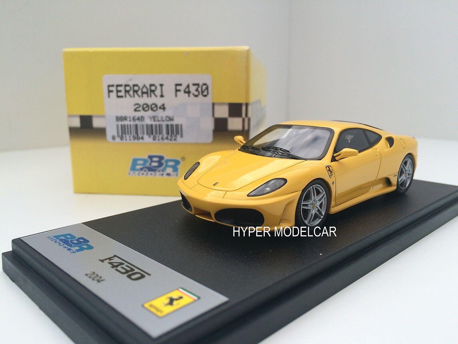 BBR Model 1 43 Ferrari F430 2004 giallo Art. BBR164B