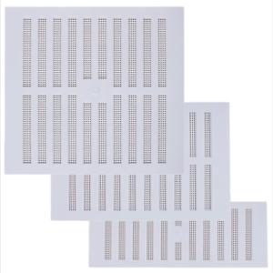 Plastique blanc HIT /& MISS réglable Air Vent ouvrir /& fermer Ventilateur Housse Grille