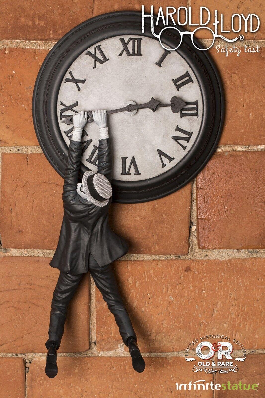 Harold Lloyd  Safety Last    Infinite Statue Limited Edition  250 Worldwide