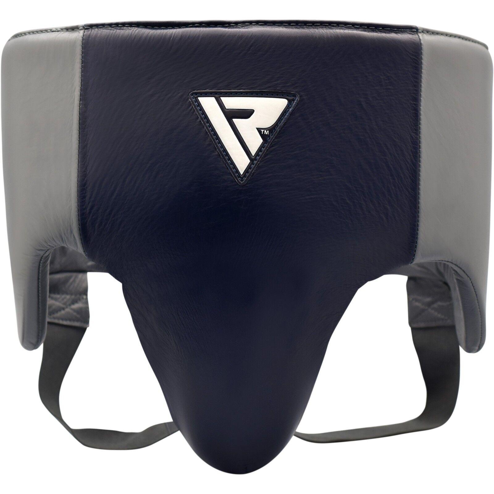 RDX O1 pro Leistenschutz Fouler Schutz Marine Grau Schutz Boxen Sparring