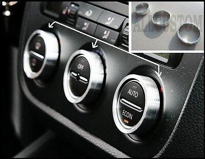 VW CADDY LIFE ENTOURAGES ALU CERCLAGES BOUTONS VENTILATION CLIMATISATION AIR
