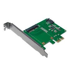 LogiLink PC0077 PCI Express Karte 1x mSATA SSD + 1x SATA HDD