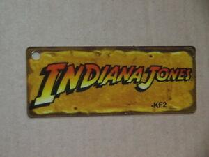 original Stern Indiana Jones pinball machine plastic promo key fob