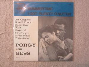 Single-Porgy-And-Bess-Original-Sound-Track-CBS-RARITAT-SUMMERTIME