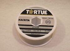 Fil de pêche TORTUE La Soie (45) NACRITA n°130 - 12,800Kgs 100M - 110Yds 28,2Lbs