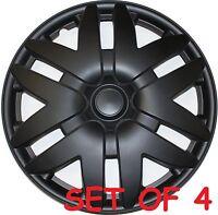 4 Pieces Black 16 Wheel Cover Toyota Sienna 2004 2005 2006 2007 Hubcap Hub Cap