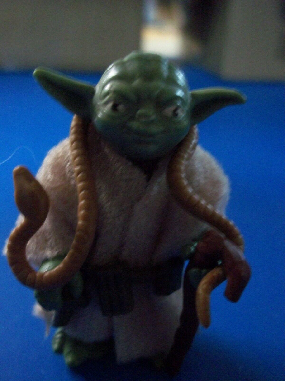 Star Wars Yoda Kenner vintage Braun snake complete Pac-Man Eyes variant