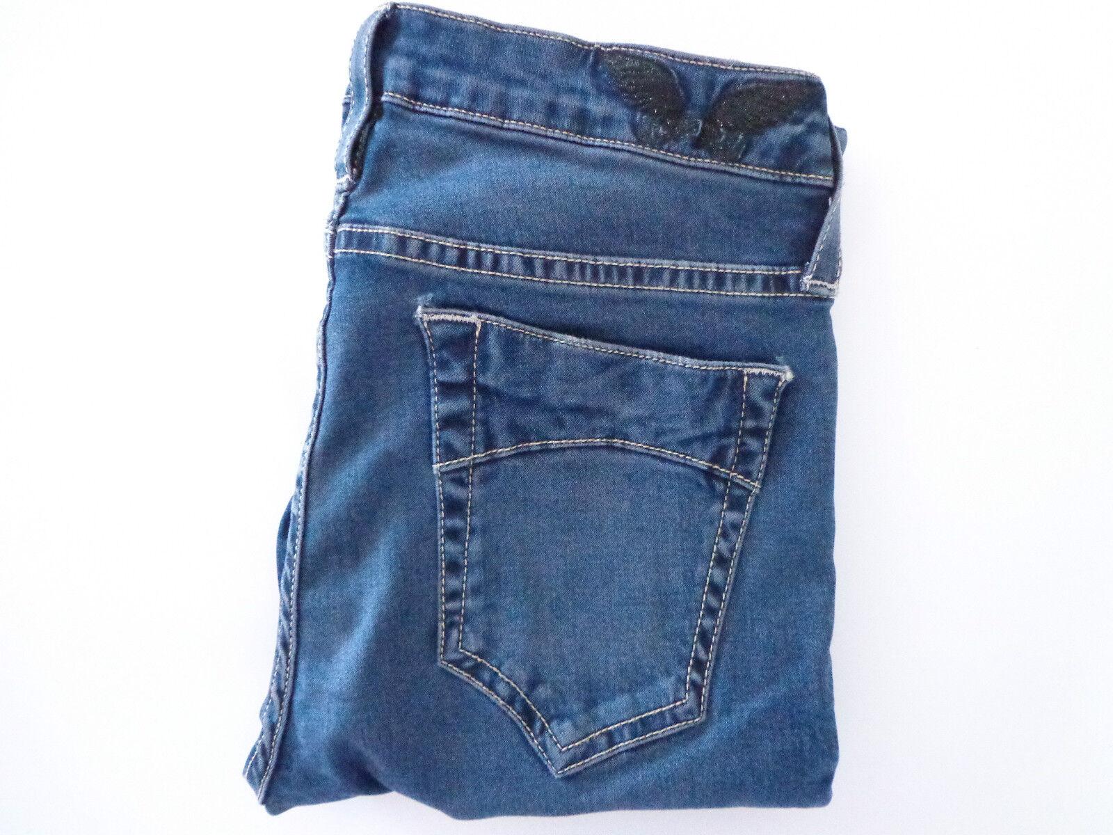 Robin's bluee jeans Jane stretch skinny mid rise silhouette  SZ 27 New