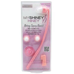 My-Shiney-Hiney-Medium-Bristle-Personal-Cleansing-Brush-Set-Pink