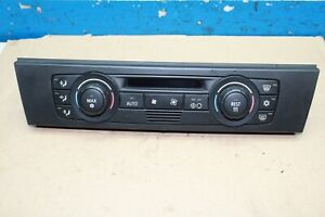 BMW 3er E90 Bj.06 Air Conditioning Control Device Automatic 9117136