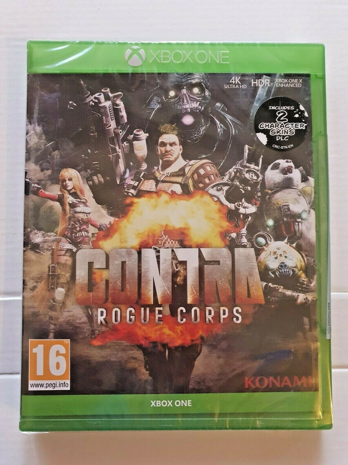 *New & Sealed* Xbox One / Series X Game - Contra: Rogue Corps - 4K HDR - 16+