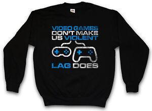videogiochi non felpa I pullover violenti rendono ci Sd45wO