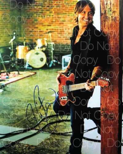 Keith Urban signed Ripcord Fuse Closer 8X10 photo picture poster autograph RP