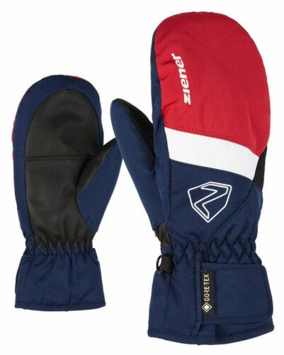 Ziener Kinder Skihandschuhe Kinderskifäustlinge LEVIN GTX MITTEN glove blau rot