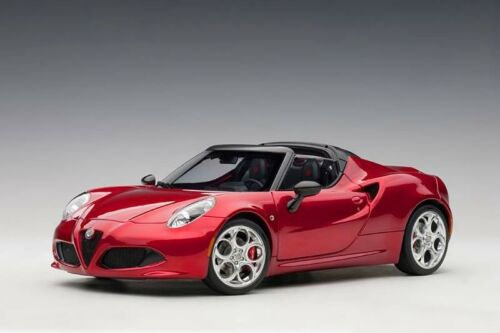 Alfa Romeo 4C Spider 2015 Competition Red Met AUTOART 1:18 AA70142