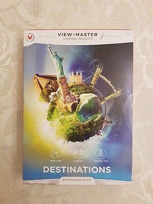 Indipendente View Master Esperienza Di Realtà Virtuale Destinazioni Pack.-mostra Il Titolo Originale