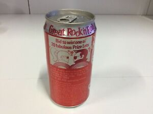 Collectable-Coca-Cola-Coke-Can-Great-Rock-034-N-034-Roll-Auction-1989