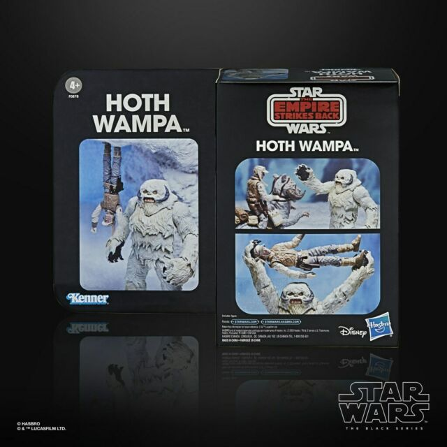 """STAR WARS THE BLACK SERIES Global Convention Exclusive Wampa  6"""" NIB non mint"""