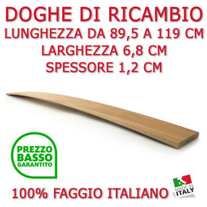 DOGA DOGHE DI RICAMBIO PER RETI -LETTI IN LEGNO-TUTTE LE MISURE ...