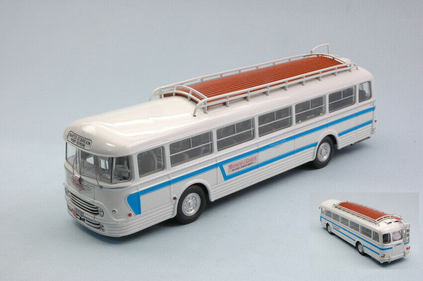 Chausson Ap52 1955 bluee & bluee Bus 1 43 Model NOREV