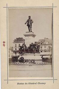 Mans Francia Stampa Albumina Vintage Verso 1890 Formato CDV 2 Foto R / A V