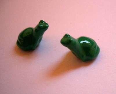 9 # Lego Figur Frosch Grün 2 Stück