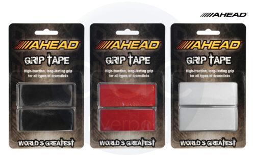 Black//Red//White Drum Stick Grip Wrap Tape - AGT//AGTW//AGTR Ahead GripTape