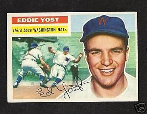 1956-Topps-128-Eddie-Yost-Ex-Mt