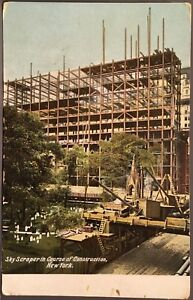 New-York-City-NY-Sky-Scraper-In-Course-of-Construction-New-York-Manhattan
