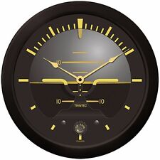 "Trintec Huge 14"" Aviation Vintage Artificial Horizon Wall Clock 9063v-14 Aviatri"