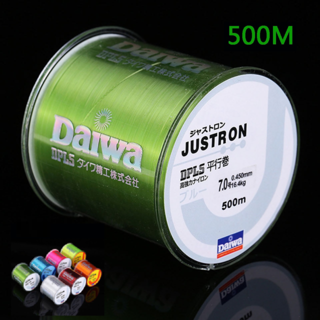 500m Daiwa Fishing Line Super Strong 100m Japan Brand Fishing Line Justron