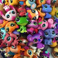 Hasbro LPS - random 30pcs Littlest Pet Shop Zoo Animal Figure Boy Girl Toy Gift