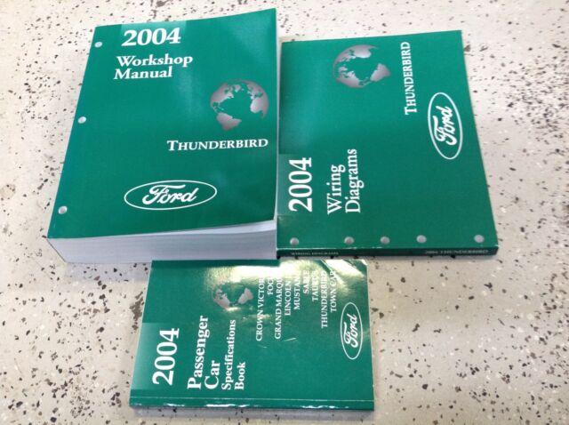 Diagram  2002 Ford Thunderbird Service Repair Shop Manual