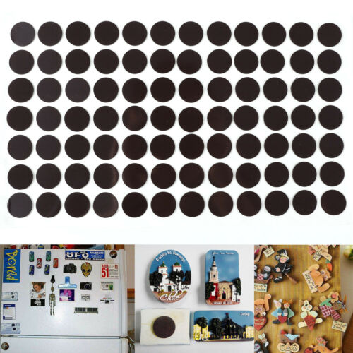 168 Magnetplättchen 20*0,85mm Takkis selbstklebend Magnetfolie Magnetpunkte BL