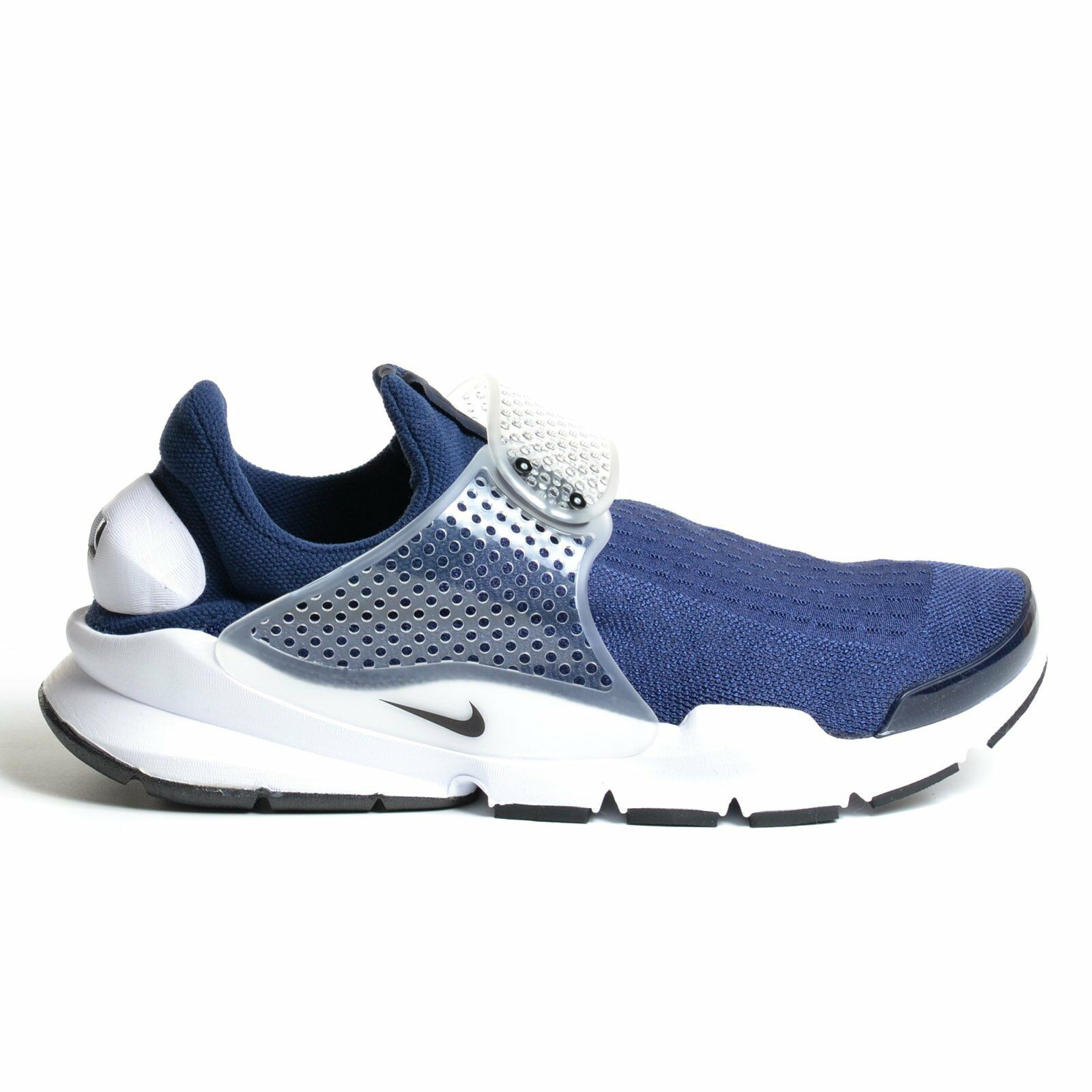 Nike Sock Dart Midnight Navy 2018 White Grey KJCRD Knitted Jacqaurd 819686-400