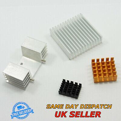 Energisch Aluminum Ic Chip Heatsink Different Size Radiator Cooler Heat Sink Angenehm Im Nachgeschmack